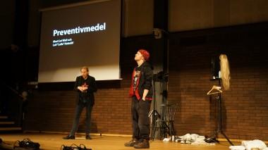Bild från föreställningen